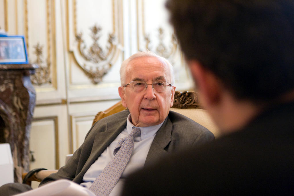 Interview mit Jacques de Larosière