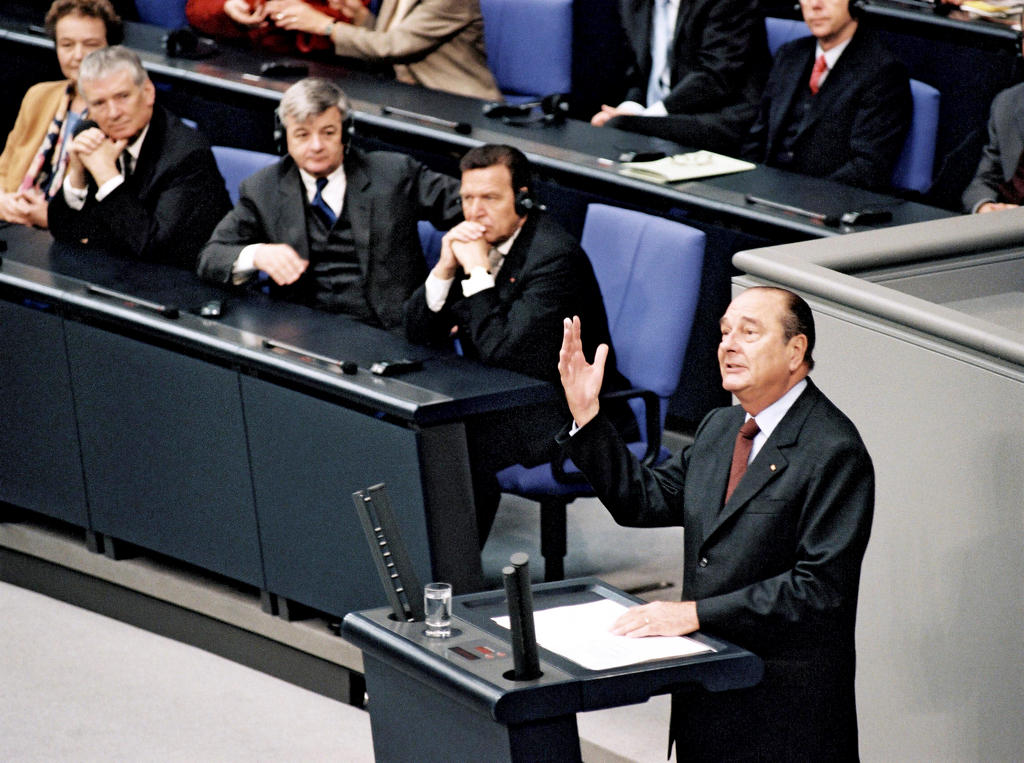 Address given by Jacques Chirac to the Bundestag (Berlin, 27 June 2000)