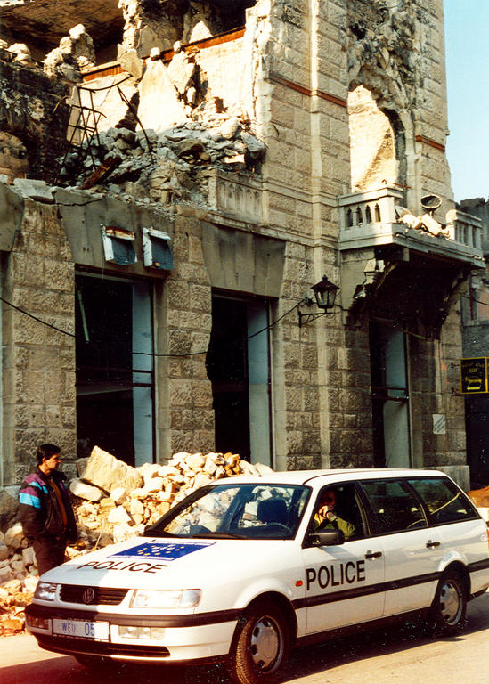 WEU police contingent in Mostar (July 1994–October 1996)