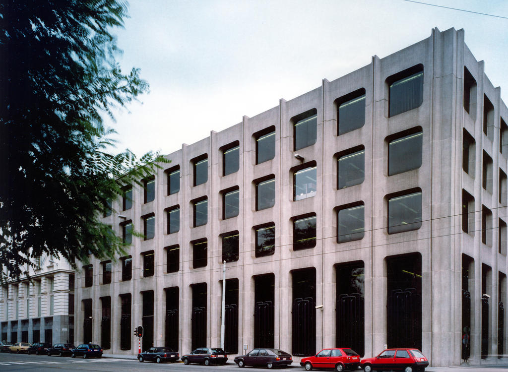 WEU headquarters in Brussels, rue de la Régence (1993–2001)