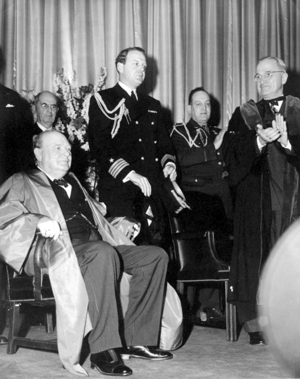 Address by Churchill in Fulton (5 March 1946)