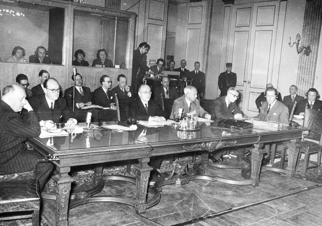 First session of the Consultative Committee attached to the ECSC High Authority (Luxembourg, 26 January 1953)