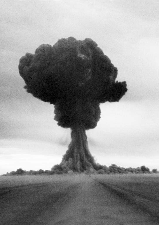 Explosion of the first Soviet atomic bomb (Kazakhstan, 29 August 1949)