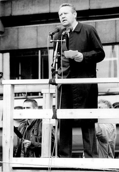Address given by Günter Schabowski at the demonstration on the Alexanderplatz in East Germany (4 November 1989)