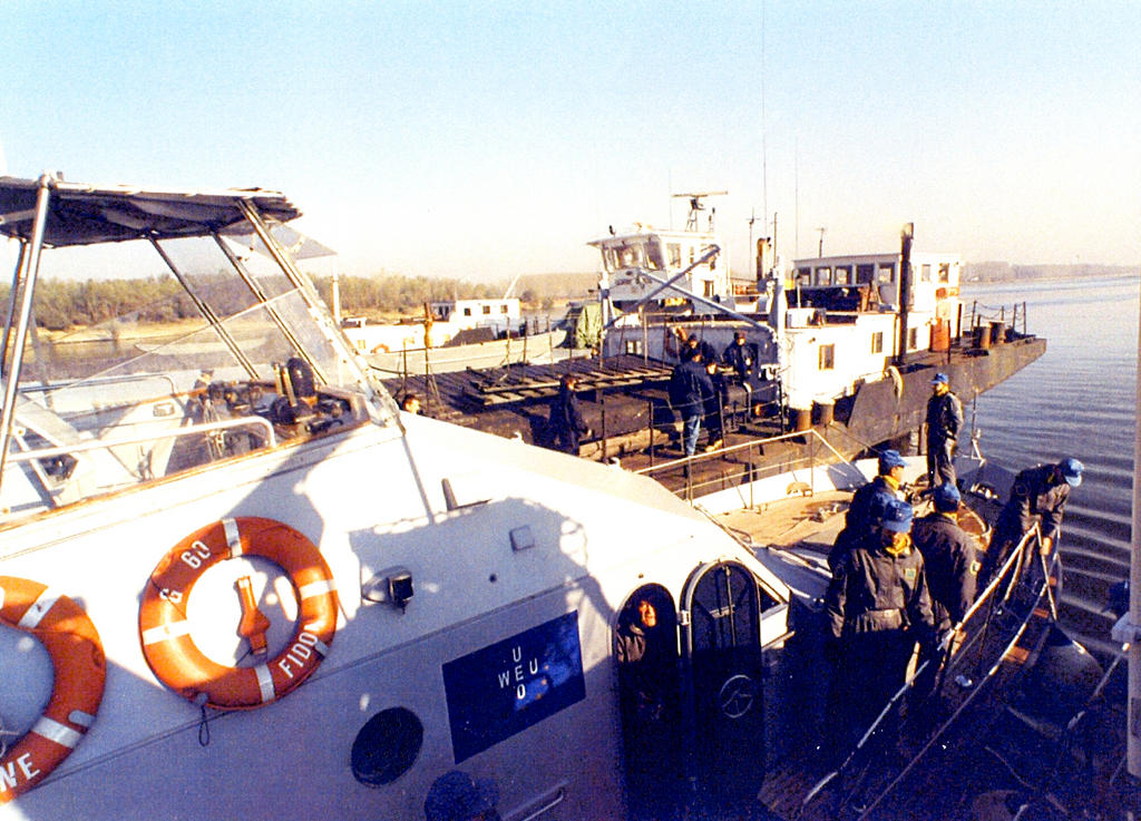 WEU operations on the Danube (1993–1996)