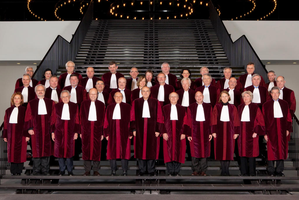 Members of the Court of Justice of the EU (2010)