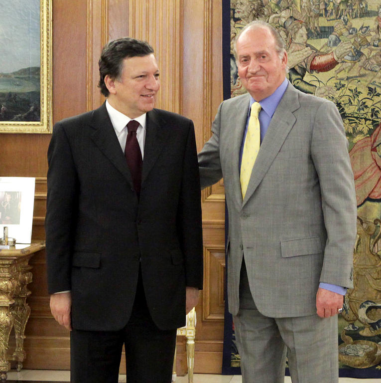 Meeting between José Manuel Barroso and Juan Carlos I (Madrid, 14 May 2009)