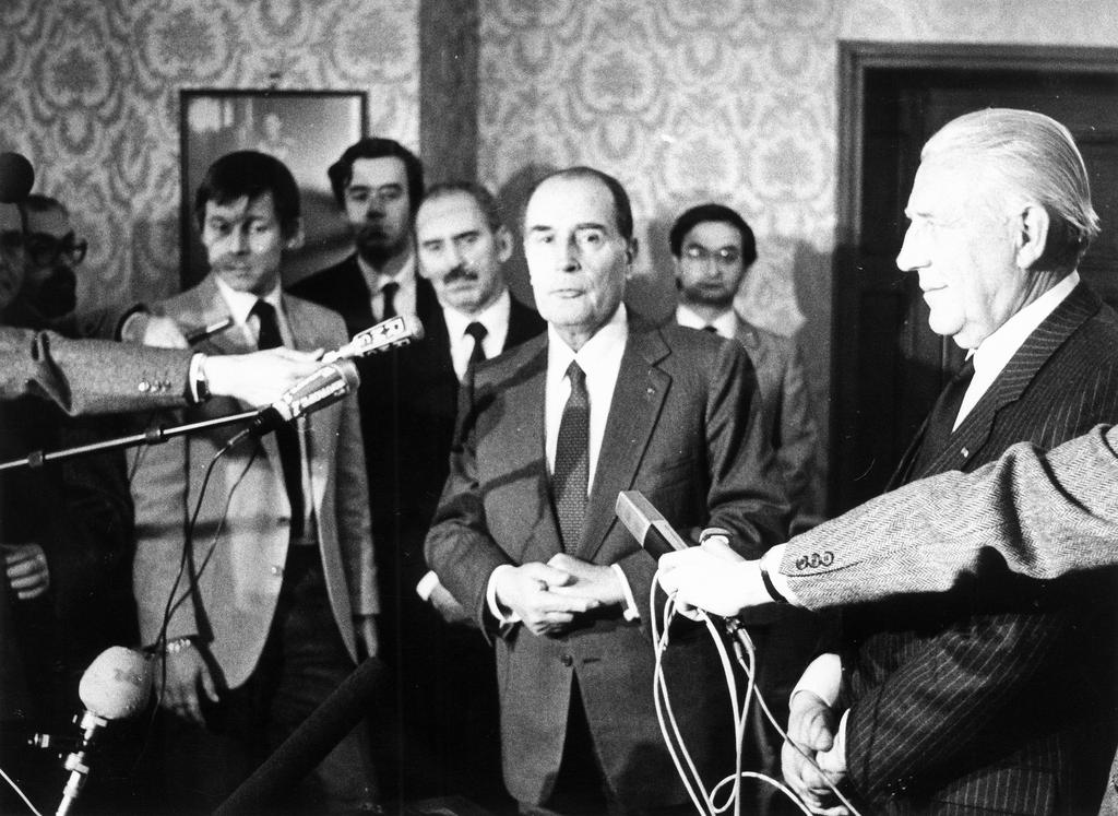 Press conference held by François Mitterrand (Luxembourg, 8 February 1984)