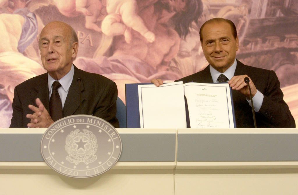 Submission of the report by the Praesidium of the Convention on the Future of Europe (Rome, 18 July 2003)