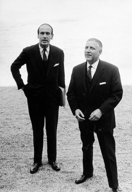 Pierre Werner and Valéry Giscard d'Estaing (Luxembourg, 1969)