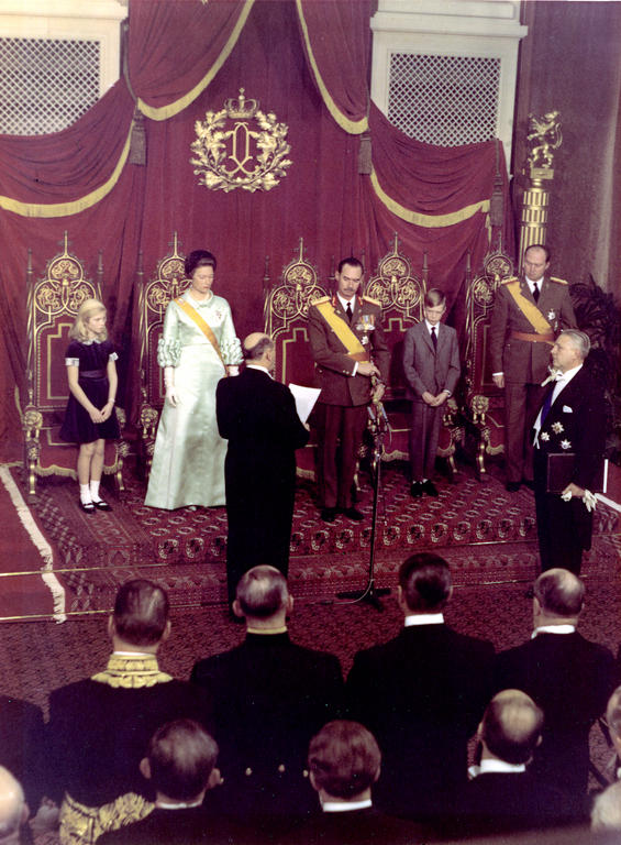 The accession of Grand Duke Jean (Luxembourg, 12 November 1964)