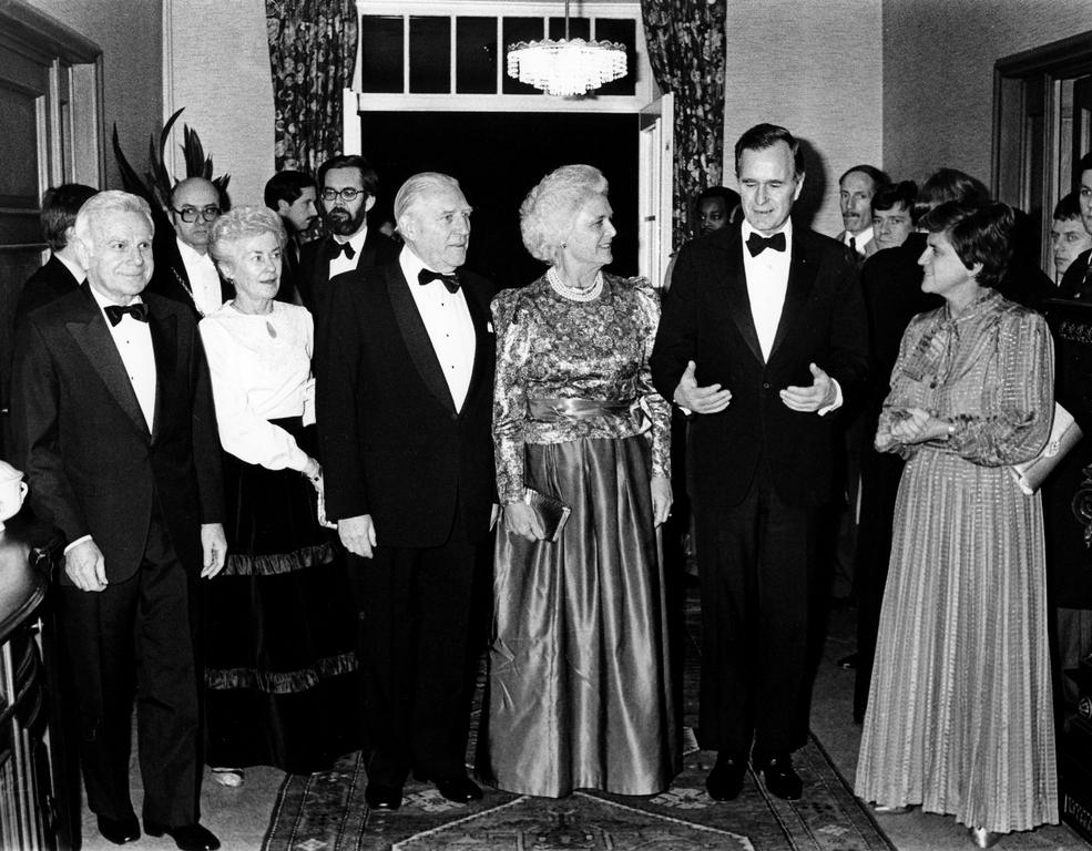 Official visit of George H. W. Bush to Luxembourg (12–13 February 1984)