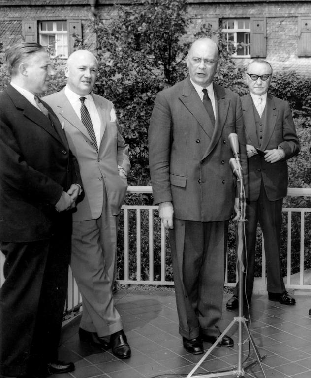 Meeting of Finance Ministers (Petersberg, 17 July 1959)