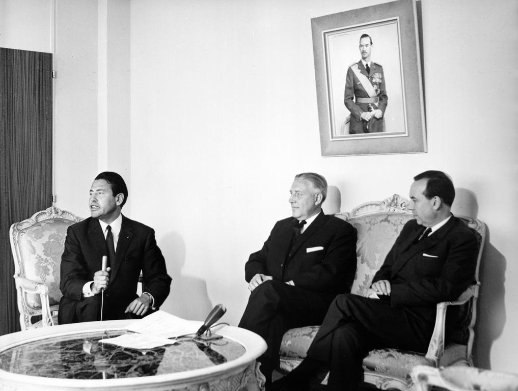 Joint press conference held by Pierre Werner and Michel Debré (Luxembourg, 12 September 1966)