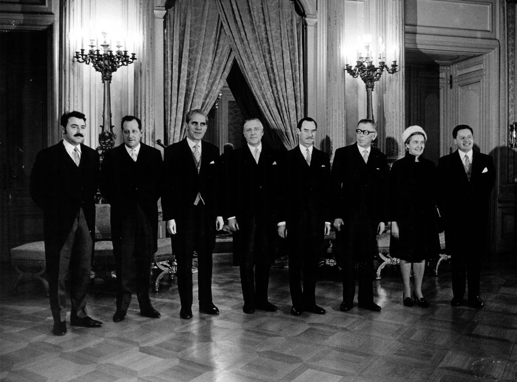 The Luxembourg Government in 1969