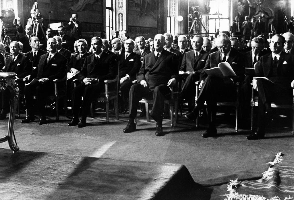 Ceremony to mark the tenth anniversary of the signing of the Rome Treaties (Rome, 29 and 30 May 1967)