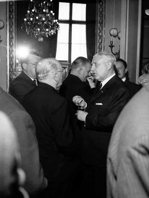 Pierre Werner and Jean Monnet (Paris, 15 and 16 May 1970)