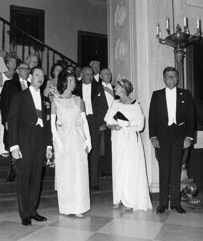 Pierre Werner at the White House (Washington, 30 April 1963)