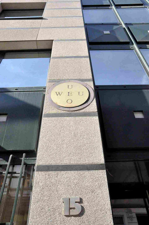 WEU Headquarters in Brussels, rue de l'Association (since 2001)