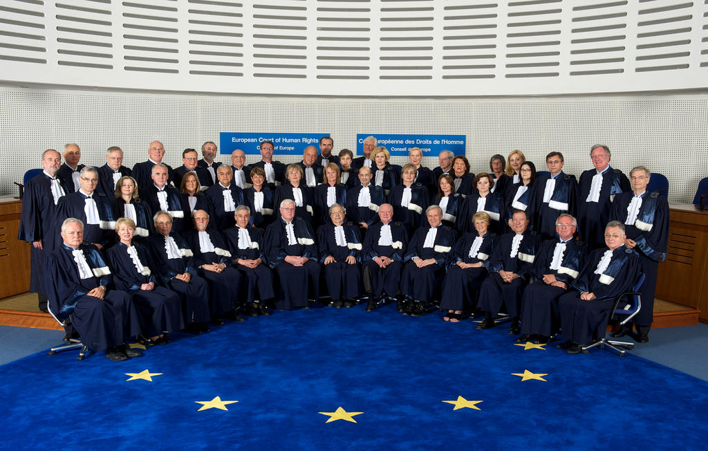The Judges of the European Court of Human Rights