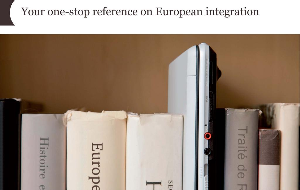 Your one-stop reference on European integration