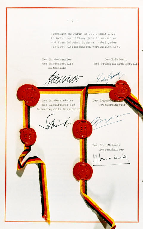 Treaty between the French Republic and the Federal Republic of Germany on Franco-German cooperation (22 January 1963)