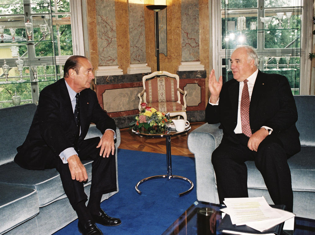 Seventieth Franco-German summit: Discussions between Jacques Chirac and Helmut Kohl (Weimar, 19 September 1997)