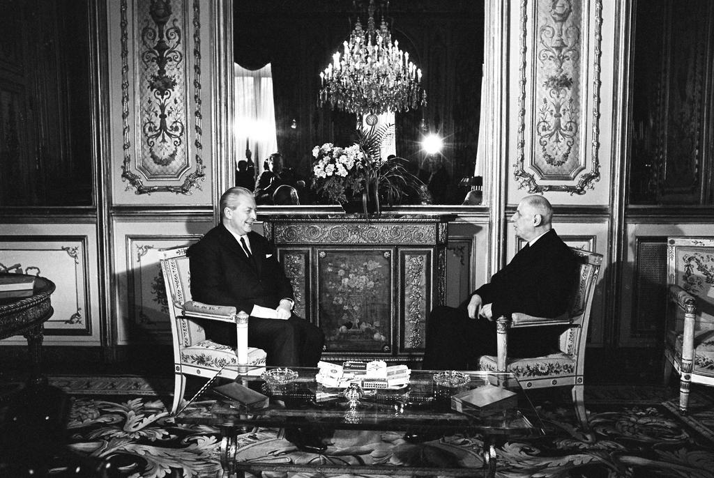 Ninth Franco-German summit: Discussions between Charles de Gaulle and Kurt Georg Kiesinger (Paris, 13 and 14 January 1967)