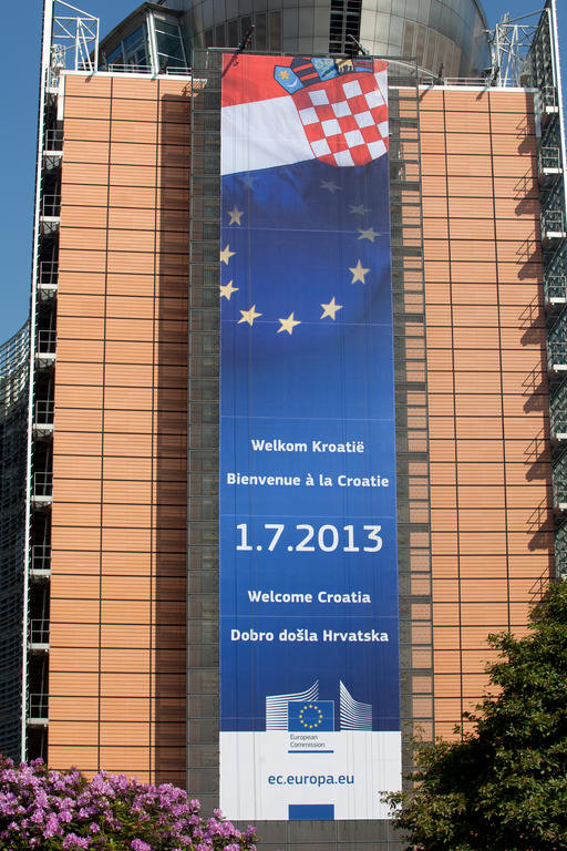 Festivities for Croatia's accession to the European Union (Brussels, 6 June 2013)