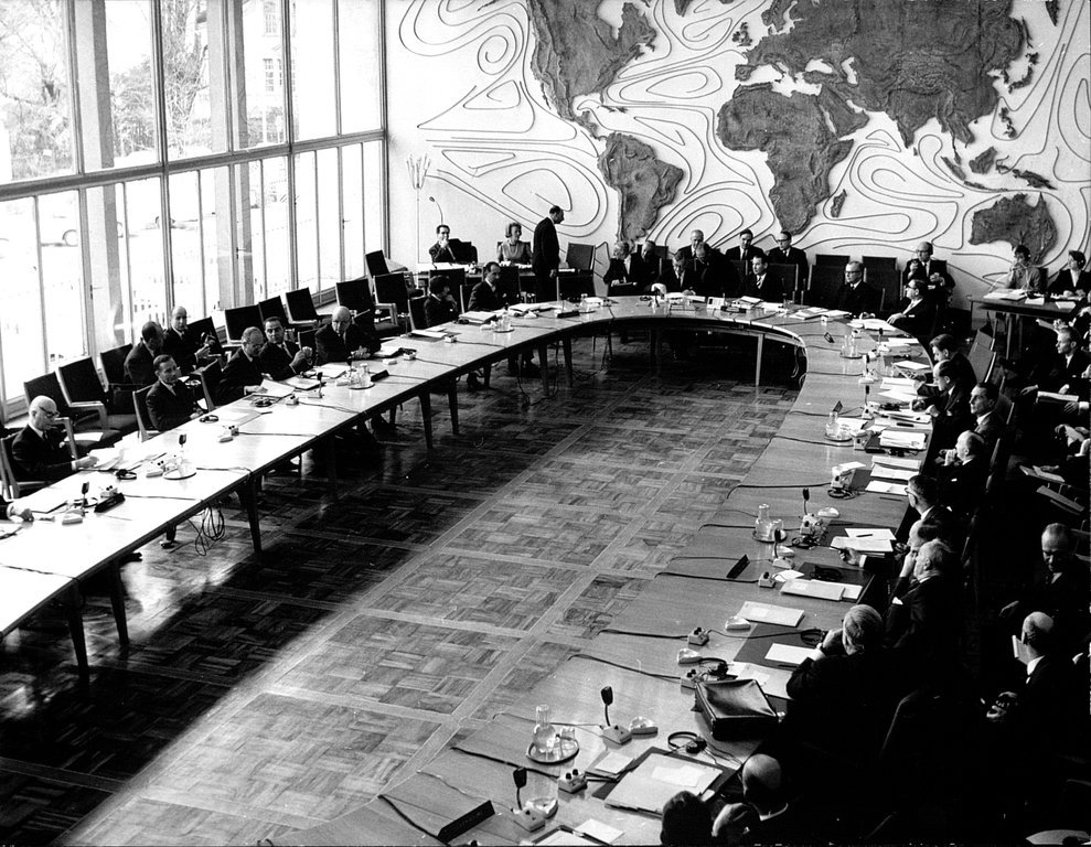 Opening session of the WEU Council of Ministers in Bonn (16 November 1964)