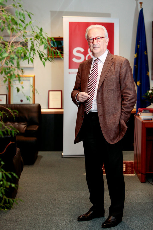 Hannes Swoboda, Chair of the S&D Group