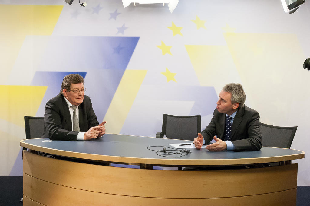 Gérard Deprez interviewé par Étienne Deschamps