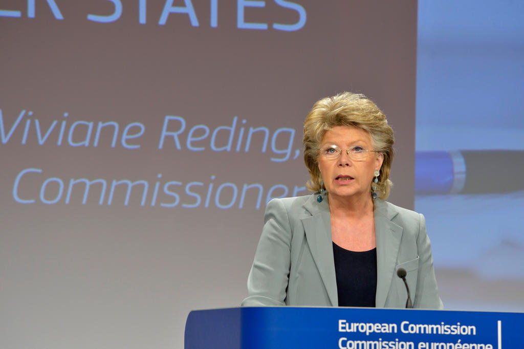 Press conference held by Viviane Reding (Brussels, 24 April 2013)