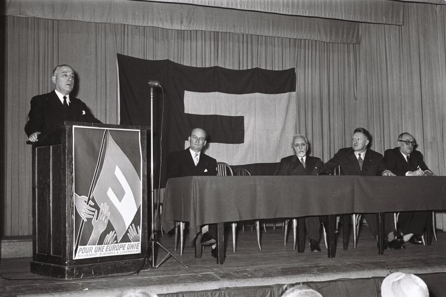 Address by René Mayer at a meeting of the European Movement in Luxembourg (26 January 1956)