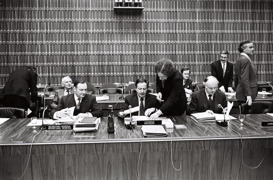 453rd meeting of the WEU Council held at ministerial level (Luxembourg, 15 February 1973)