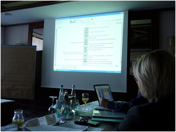 Second working meeting in Bonn (8–10 March 2010)